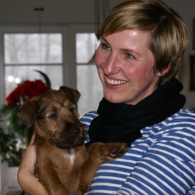 Carola, eine Welpenräuberin!