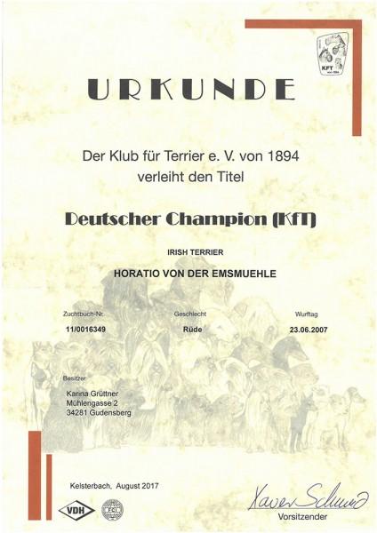 Horatio-KfT-Champion