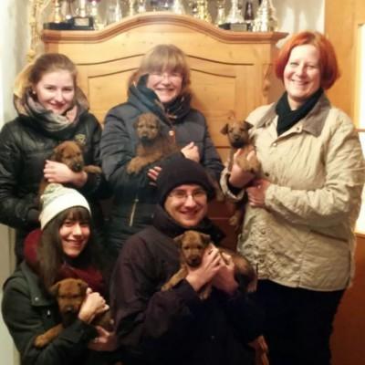 Die ganze Familie freut sich mit :-)