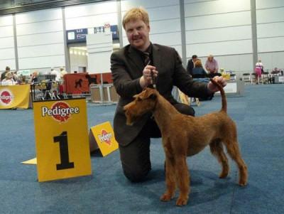 Best of Breed Gruppenfinalistin   Rosalind von der Emsmühle  Richter: Reiner Jacob (D)